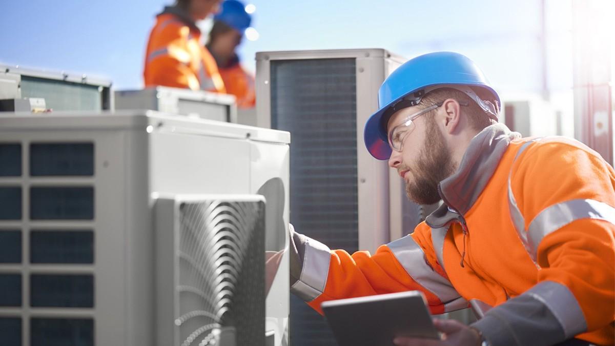 Техническое обслуживание систем кондиционирования и вентиляции
